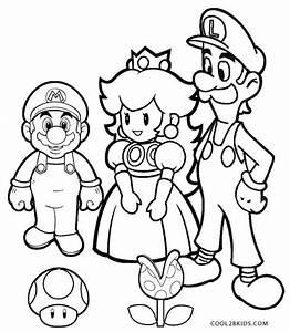 Ausmalbilder, Luigi