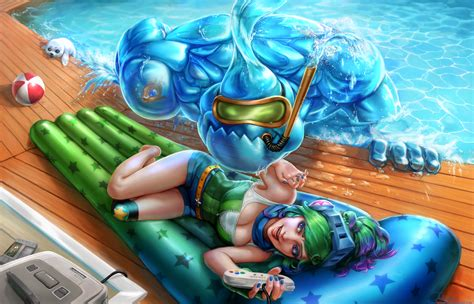 Arcade Riven And Pool Party Zac Full By Naivascha On