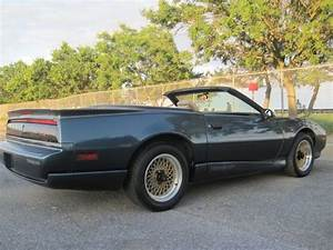 Sell Used 1992 Pontiac Firebird Trans Am Convertible 2