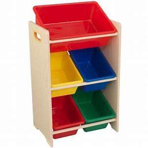 Meuble De Rangement Avec Panier : meuble avec bacs de rangement 5 paniers kidkraft ~ Teatrodelosmanantiales.com Idées de Décoration