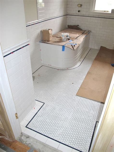 tile flooring upstairs 63 best upstairs bathroom remodel images on pinterest bathroom hex tile and hexagon floor tile