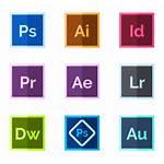 Adobe Logos Icons Icon Vector Flaticon Rating