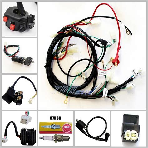 Chinese Atv Quad Wire Harness Wiring Assembly