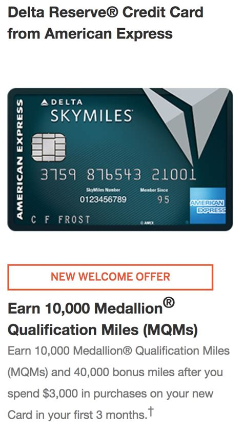 You may need to use incognito mode to see it. delta-reserve-card-offer - Points with a Crew