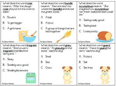 pleasant using context clues worksheets kindergarten in