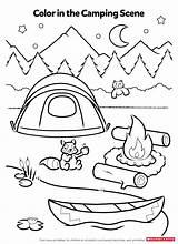 Camping Activity Sheets Coloring Printable Activities Theme Worksheets Preschool Printables Preschoolers Campfire Sheet Camp Smores Crafts Worksheet Colouring Scholastic Kindergarten sketch template