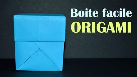comment fabriquer une boite origami diy boite cadeau facile