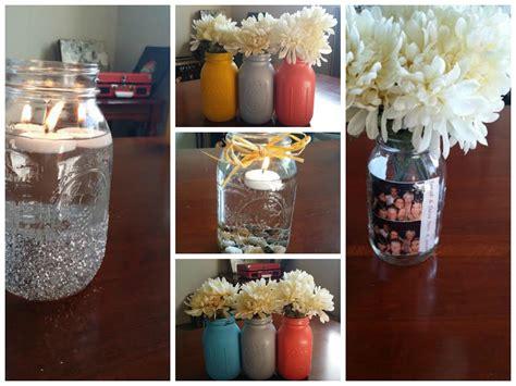 diy mason jar centerpiece projects  wont break