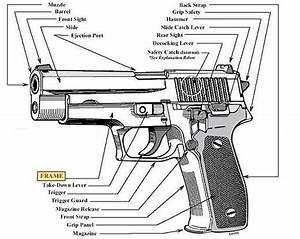 Diagram Of A Handgun