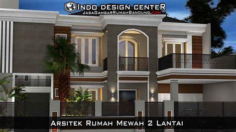 arsitek rumah mewah  lantai arsip jasa desain rumah
