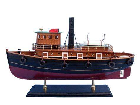 Wooden Model Fishing Boat Kits by River Rat Tugboat Wood Model Ship Kits Wooden Models