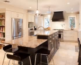 bi level kitchen ideas bi level island kitchens