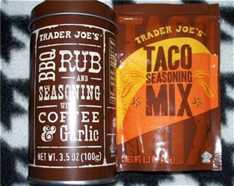1.4 trader joe's organic colombian coffee 1.6 trader joe's instant coffee packets with creamer and sugar 1.8 trader joe's single serve medium roast arabica coffee Trader JOE'S Taco Seasoning MIX BBQ RUB AND Seasoning With Coffee Garlic   eBay