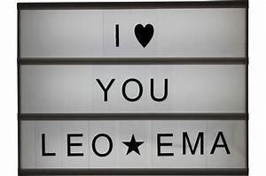 Boite Lumineuse Message : boite lumineuse d corative en bois 95 lettres message lampe poser pas cher ~ Teatrodelosmanantiales.com Idées de Décoration