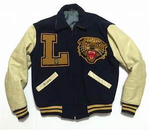 rare vintage american letterman varsity jacket tiger With letter jackets and more