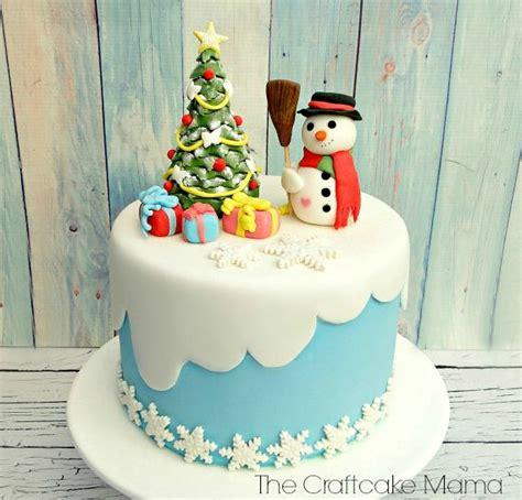 christmas fondant cake mi tarta de fondant navidena