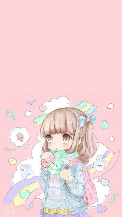 Anime Wallpaper Pastel - ριитєяєѕт pinkmintkay ραѕтєℓ αиιмє gιяℓу αят