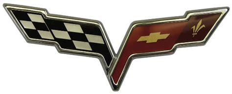chevy corvette  rear bumper corvette flags