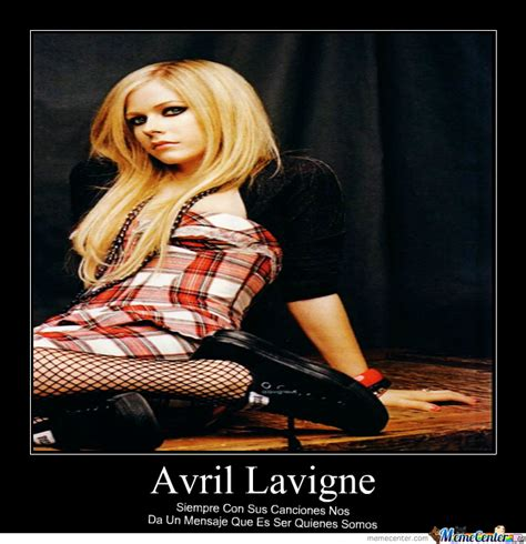 Avril Lavigne Meme - avril lavigne by yvy meme center