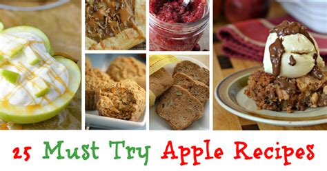 25 Must Try Apple Recipes
