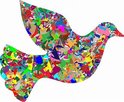 Modern Clipart Peace Dove Fall Begins Sign