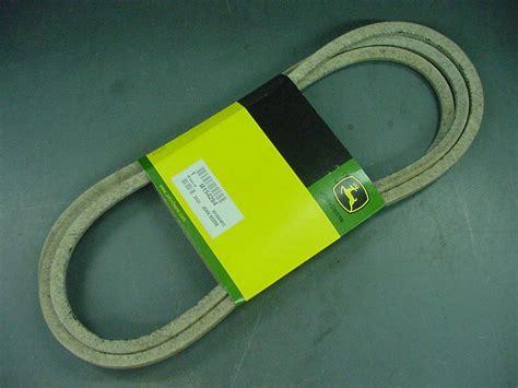 Deere L110 Mower Deck Belt Size by Deere Genuine Oem Mower Deck Belt M154294 For 42