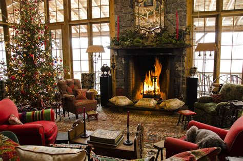 Home Interior Tree Picture : 12 Christmas Fireplace Photos, Ideas