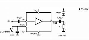 2w mono amplifier amplifiercircuitscom With 22w mono amplifier circuit diagram