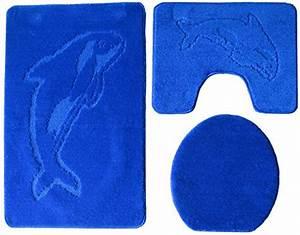 Badgarnitur 3 Teilig : badgarnitur 3 teilig badgarnitur dunkel blau badset delphin badematten teppich stand wc ~ Indierocktalk.com Haus und Dekorationen