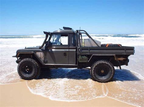 land rover series 3 custom custom land rover ute featuring range rover internals