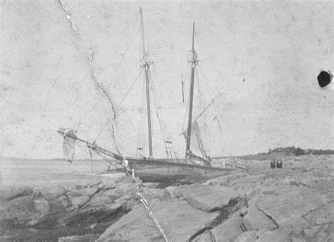 In Peril On The Sea In The 1800s  Boothbay Register