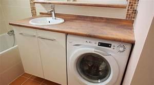 plus simple et plus pratique le lave linge sous le meuble With meuble lave linge