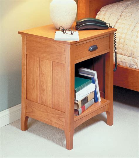 Woodworking Plans Bedside Table