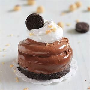 No-Bake Oreo and Nutella Mini Cheesecakes Ultimate Recipe ...