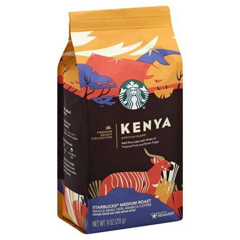 The different varietals are grown in the 3 regions someone already. Starbucks Kenya Medium Roast Coffee Beans (9 oz) - Instacart