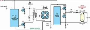 12v Flourescent Lamp Inverter Circuit Diagram