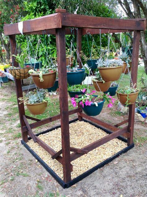 hanging basket stand hanging basket stand garden