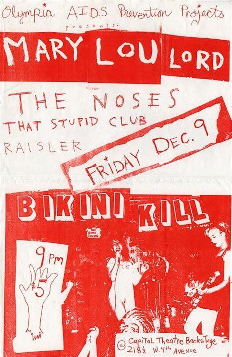 pin  riot grrrl posters