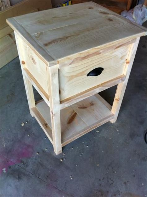 copy cat bedside table    home projects  ana white woodworking projects