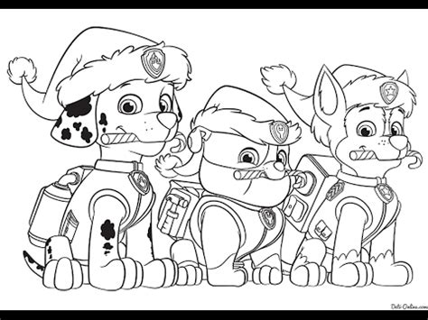 Paw Patrol Best Coloring Book Tough Racer Marshal Coloring