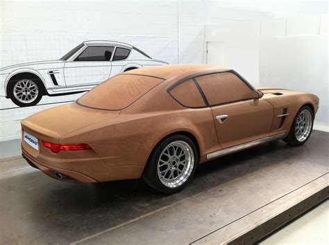 Jensen Gt Teased In Clay Model Format, 2016 Jensen