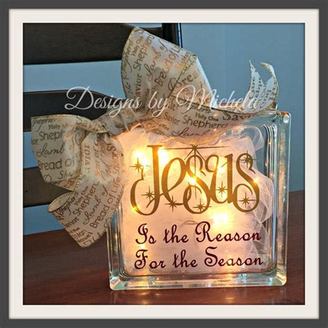 jesus is the reason for the season lighted sign jesus is the reason for the season light ornament