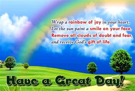 wrap  rainbow  joy   heart    great day ecards
