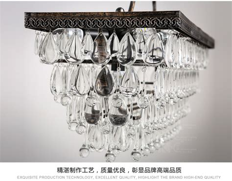 Rh Style 1920s Odeon Clear Glass Rectangular Chandelier