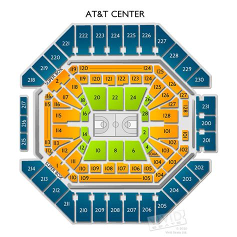 At&t Tickets & Seating Info