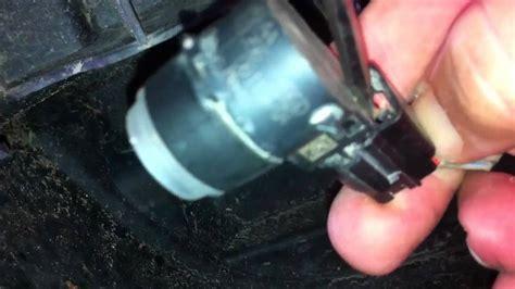 removing rear   sensor  wiring harness