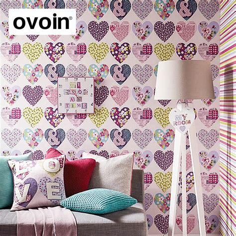 papier peint multicolore chambre papier peint fille chambre collection et papier peint