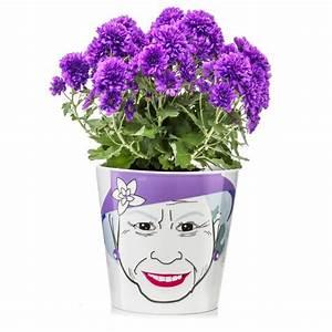 übertopf Groß Innen : flower queen gross blumentopf flower power von donkey products ~ Frokenaadalensverden.com Haus und Dekorationen