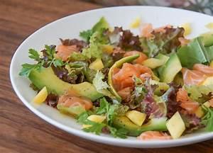 Salat Mit Geräuchertem Lachs : mango avocado salat mit lachs und walnuss l awesome recipes avocado salat mango avocado ~ Orissabook.com Haus und Dekorationen