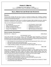 resume format for experienced sales professional 1000 images about resume exle on summary cover letters and customer service resume